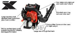 Echo PB-8010H Backpack Blower Hip Mounted Throttle 211 MPH Most Powerful Ever