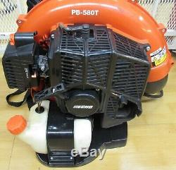 Echo Pb-580t 215 Mph 510 Cfm 58.2cc Gas 2 Stroke Cycle Backpack Leaf Blower