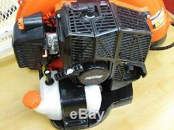 Echo Pb-580t 215 Mph 510 Cfm 58.2cc Gas 2 Stroke Cycle Backpack Leaf Blower