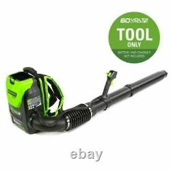 Electric Leaf Blower Brushless Cordless Lithium Ion 60-V (Battery Not Included)
