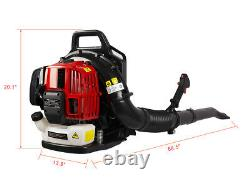 Gas Backpack Leaf Blower withextention tube 52CC 2-Cycle Outdoor Power Equipment