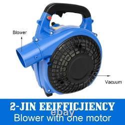 Gas Power Leaf Blower 65cc Engine Backpack Powerful 850CFM Blowing Debris Dust