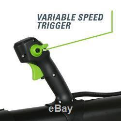 GreenWorks 60-Volt 60V Li-ion 140-MPH Electric Backpack Leaf Blower Tool Only