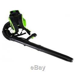 GreenWorks BPB80L00 80-Volt Cordless Backpack Leaf Blower Bare Tool 2403802