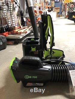 GreenWorks Commercial 82 Volt Backpack Leaf Blower GBB-700