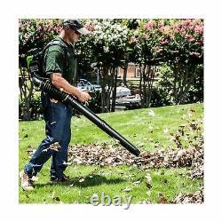Greenworks 80V 145MPH 580CFM Cordless Backpack Leaf Blower Included BPB80L00