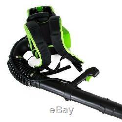 Greenworks Cordless Backpack Leaf Blower Outdoor Power Tool 80V 145MPH 580CFM