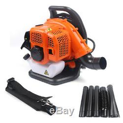 High Performance Gas Powered Back Pack Leaf Blower 2-Stroke 1.2L Fuel Tank Pro
