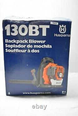 Husqvarna 130Bt 2 Cycle Back Pack Blower
