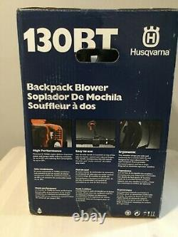 Husqvarna 130bt Gas Backpack Leaf Blower