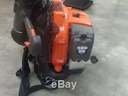 Husqvarna 150BT, 50.2cc 2-Cycle Gas Backpack Leaf Blower New but tested
