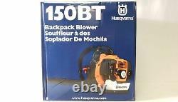 Husqvarna 150BT 50cc 2.15 HP 2 Cycle Gas Backpack Leaf Blower