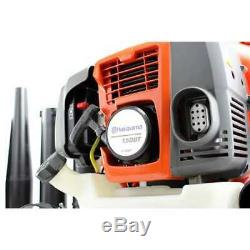 Husqvarna 150BT 50cc 2 Cycle Gas Commercial Leaf Backpack Blower (For Parts)
