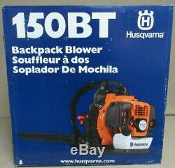 Husqvarna 150BT 50cc 2-cycle 251-MPH Gas Backpack Leaf Blower NEW