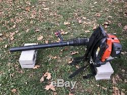 Husqvarna 150BT Backpack Leaf Blower VERY LIGHTLY USED 50cc Engine /SHIPS FAST