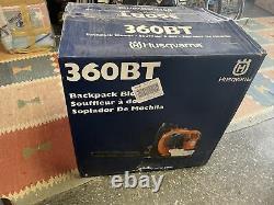 Husqvarna 360BT Handheld Gas Leaf Blower Vaccum 232MPH X-Torq 967144301