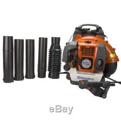 Husqvarna 50cc 2-Cycle Gas-Powered Leaf/Grass 180mph Backpack Blower (For Parts)