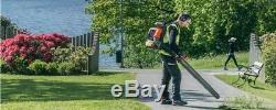 Husqvarna 580BTS Backpack Blower RedMax EBZ8500RH New Leaf Blower 580 BTS