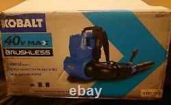 Kobalt 40 Volt Brushless Backpack Cordless leaf Blower 2624981 (tool only)