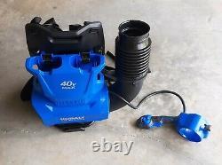 Kobalt 40V 135mph Brushless Backpack Cordless Electric Leaf Blower TOOL ONLY