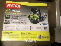 Lawn Leaf Blower RYOBI 185 mph 510 CFM Gas Backpack Professional Driveway NEW