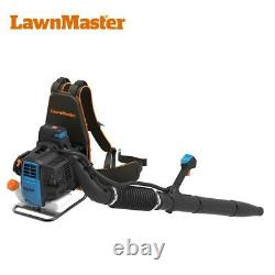 LawnMaster No-Pull Backpack Leaf Blower 31cc 2-Cycle Engine, 470CFM, 175MPH