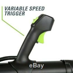Leaf Blower 540 CFM Brushless Cordless Electric Variable Speed Trigger 60 Volt