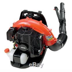 Leaf Blower Gas Backpack Tube Throttle Variable Speed 215 Mph 510 Cfm 58 2Cc