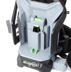 Leaf Blower Lithium Ion Cordless Backpack 5 0Ah Battery 145 Mph 600 Cfm 56 Volt