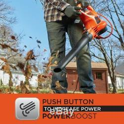 Leaf Blower Vacuum And Mulcher 250 Mph And 400 CFM With 2x Bag Capacity Backpack