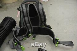 MINT EGO Electric Leaf Backpack Blower 7.5 amp Battery 56V 145 MPH 600 CFM