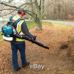 Makita Backpack Leaf Blower 4-Stroke Hip Throttle 184 MPH 516 CFM 52.5 cc