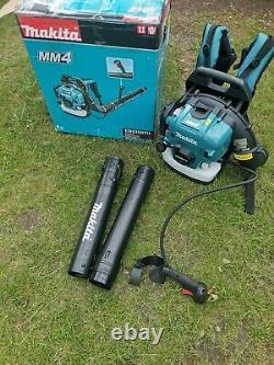 Makita Petrol BackPack Leaf Blower 52.5cc EB5300TH MM4 4 Stroke Read description