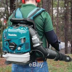 Makita Petrol BackPack Leaf Blower 75.6cc EB7660TH MM4 4 Stroke Garden Blower