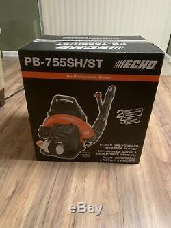 NEW ECHO 233 MPH 63.3cc Gas 2-Stroke Backpack Leaf Blower PB-755SH/ST