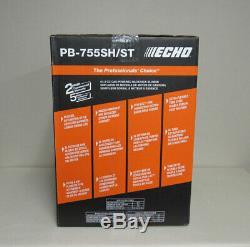 NEW ECHO 233 MPH 63.3cc Gas 2-Stroke Backpack Leaf Blower PB-755ST