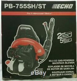 NEW! ECHO 233 MPH 651 CFM 63.3cc Gas 2-Stroke Cycle Backpack Leaf Blower