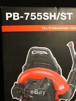 NEW Echo PB-755SH/ST CFM 63.3cc Gas 2-Stroke Cycle 233 MPH Backpack Leaf Blower