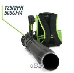 NEW! Greenworks Pro Backpack Leaf Blower 60-Volt Max Lithium Ion Cordless