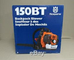 NEW Husqvarna 150BT 50cc 2-cycle 251-MPH Gas Backpack Leaf Blower