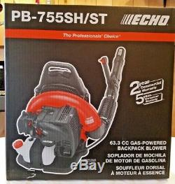 New ECHO PB-755SH/ST Gas Backpack Leaf Blower