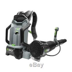 New EGO 145 MPH 600 CFM 56 Volt Lithium-Ion Cordless Backpack Blower BARE Tool