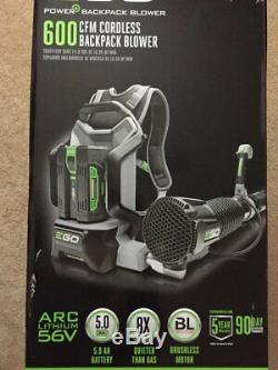 New EGO 56V Backpack Blower 145MPH-600CFM Cordless Leaf Blower (Bare Tool)