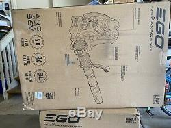 New EGO Cordless 56 Volt 145 MPH 600 CFM Electric Backpack Blower Tool only