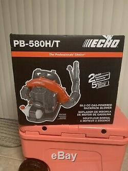 New Echo PB-580H/T Gas Powered Back Pack Leaf Blower