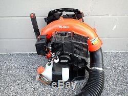 New Echo Pb-580h Backpack Leaf Blower, 58.2 CC Engine, Posi-loc Pipe Connectors