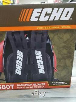New Echo Pb-580t Professional Grade Gas Power Backpack Leaf Blower (ms4010836)