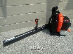 New Echo Pb-770t Backpack Leaf Blower, 63.3cc 2 Stroke, Tube Throttle, 234 Mph