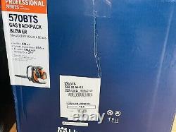 New Husqvarna 570BTS Gas Backpack Leaf Blower Guaranteed 972cfm 65.6cc 236.2mph