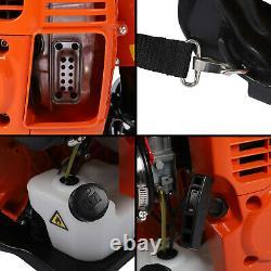 No-Pull Backpack Gas Leaf Blower 80cc 2-Stroke Engine, 900CFM, 230MPH